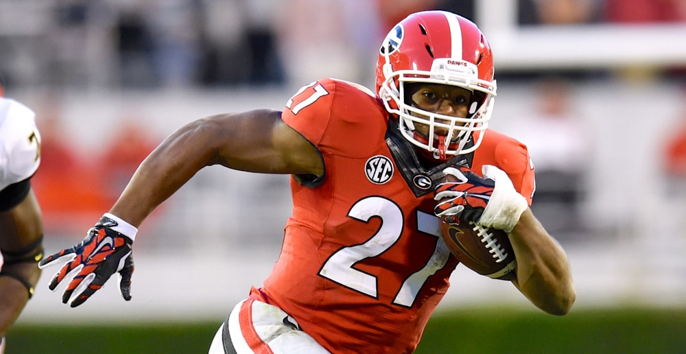 Nick Chubb - 2017 NFL Mock Draft