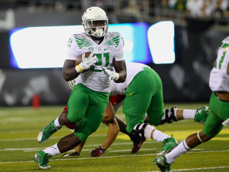 Royce Freeman - 2017 NFL Mock Draft