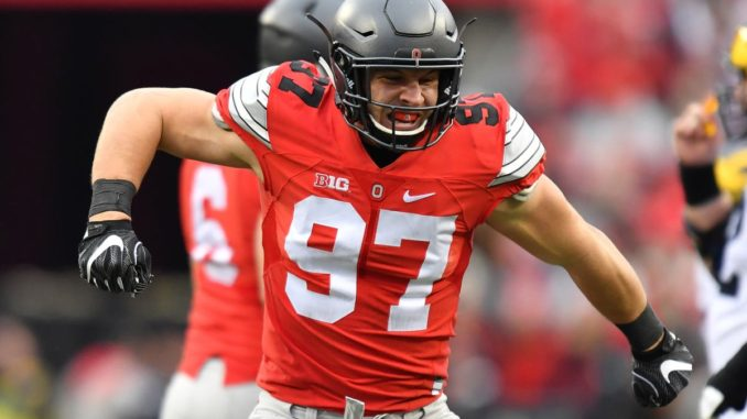 2019 NFL Mock Draft - Nick Bosa