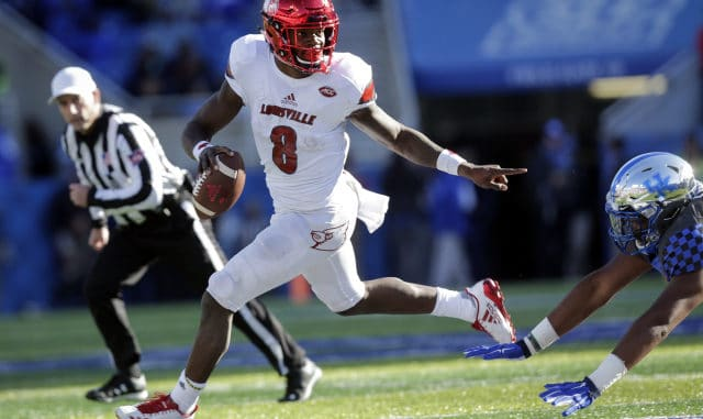 Lamar Jackson - Quarterback or Running Back?